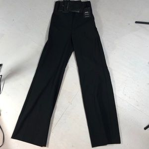 Express belted High waisted dress pants size 0